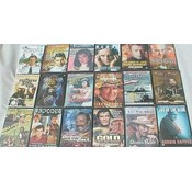 100 Piece DVD Lot, Asst Titles
