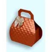 Satin Copper Mini Purse Favor Boxes