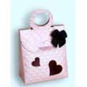 Satin Pink Stylish Favor Boxes