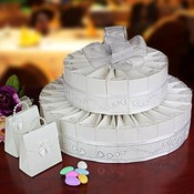 2 Tier Wedding Favor Cake Kit