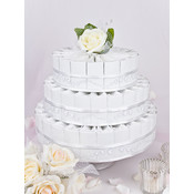 3 tier Favor Kits, Satin Champagne