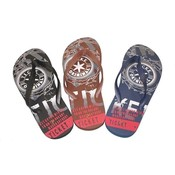 Men's Flip Flop Sandals Assorted Prints Sizes 7-12