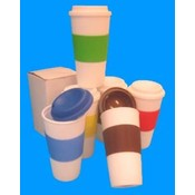 16 oz Reusable Travel Coffee Cup No Spill Top Wholesale Bulk