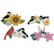 8' Wooden 3 Hook Rack Holder Birds Wholesale Bulk