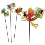 "Queen Wasp Stake, 18"" 4 Assorted Color"