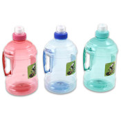 Water Bottle with Handle, 8.75' Assorted Wholesale Bulk