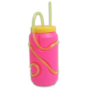 5.25' Sipper Tumbler with Crazy Straw Wholesale Bulk