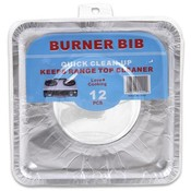 Aluminum Square Burner Rib 12 Pack Wholesale Bulk