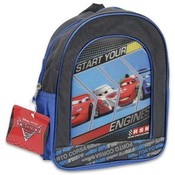 Cars Racing Backpack 11 Inches Height