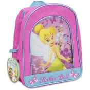 Tinkerbell Pink Backpack 11 Inches Height