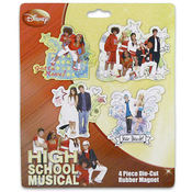 High School Musical Magnet 4 Piece Wholesale Bulk