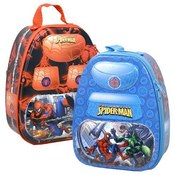 Spiderman Backpack Style Tin Box, 7 3/8""