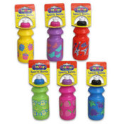 14 oz Plastic Sports Bottle & Spout Wholesale Bulk