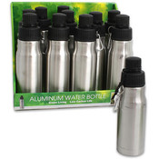 9.25' Aluminum Water Bottle Wholesale Bulk