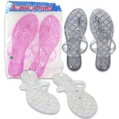 Ladies Sandals with Gems, Size 5-10  5 Assorted