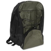 Backpack Green-Black Polynylon 20x14x7""