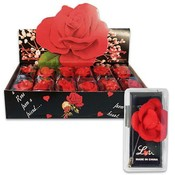 Rose Pin 2.5 High Red Love Display