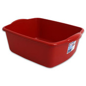 Sterilite 12 Quart Sink Dishpan Red-Usa Wholesale Bulk