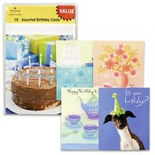 Birthday Cards, 10 Piece 5 Assorted
