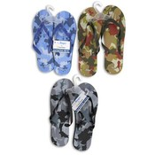Men's Flip Flops, Assorted