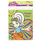 Polly Pocket Thank You Note, 8 Piece
