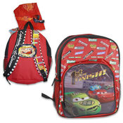 Cars Printed Hood Backpack Wholesale Bulk