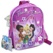 Faries With Skirt And Sleeves Backpack 11 Inches Height