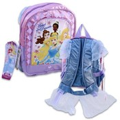 Princess With Dress And Sleeves Backpack 11 Inches Height