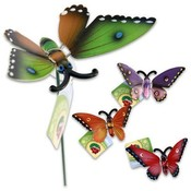 "Butterfly Stake,  24"" Assorted"