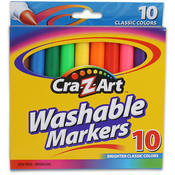 10Ct Washable Markers Cra-Z-Art Broadline