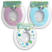 2-in-1 Sized Toilet Seat for Adults & Kids Wholesale Bulk