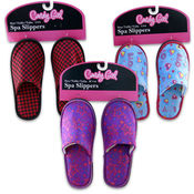 Candy Girl Slippers, Junior's Assorted Wholesale Bulk