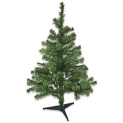 3 Ft Christmas Pine Tree 108 Tip & Stand Wholesale Bulk