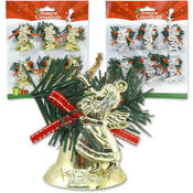 Ornament Bell-Angel 6 Pieces