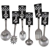 Steel Kitchen Tools, 6 Assorted