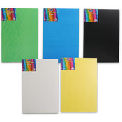 12x18 Project Poster Board 5 Nice Colors Wholesale Bulk