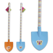 27' Plastic Shovel With Wavy Stripes On Handle Wholesale Bulk