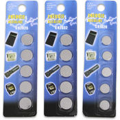 5Pk Alkaline Button Battery Assorted Wholesale Bulk