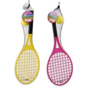 Tennis Racket with Ball 2 Piece Plastic