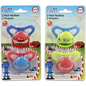 Pacifier 2 Pieces Little Racer Hood Assorted