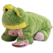 16 Inch Plush Prince Frog Pillow Chum Soft