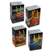 Disney Cars Small Gift Bag 4 Assorted
