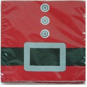 X-Mas 16Pk Beverage Napkin