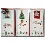 Christmas  Mini Slim Greeting Cards 15Pcs