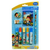 Jake The Neverland Pirates 9pc Stationery Set Wholesale Bulk