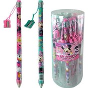 Disney Minnie Mouse Jumbo Pencil W/ Sharpener Wholesale Bulk