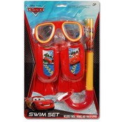 Disney Cars 3 Pc Swim Fins Snorkel Mask
