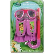 Disney Fairies 3Pc Swim Fin Snorkel Mask