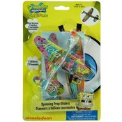 "Spongebob 2Pk Flying Gliders 10.5""x6.75"""