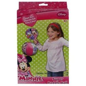 "Minnie Mouse Paddle & 8"" Inflatable Ball"